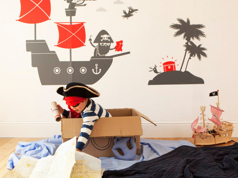 KIDS' BEDROOMS AHOY
