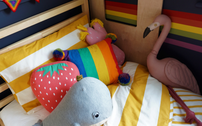 Rainbow Child – Girls Bedroom