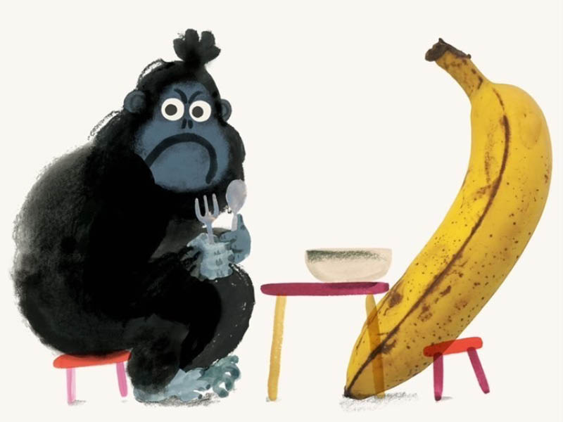 Do you want a banana by Yasmeen Ismail