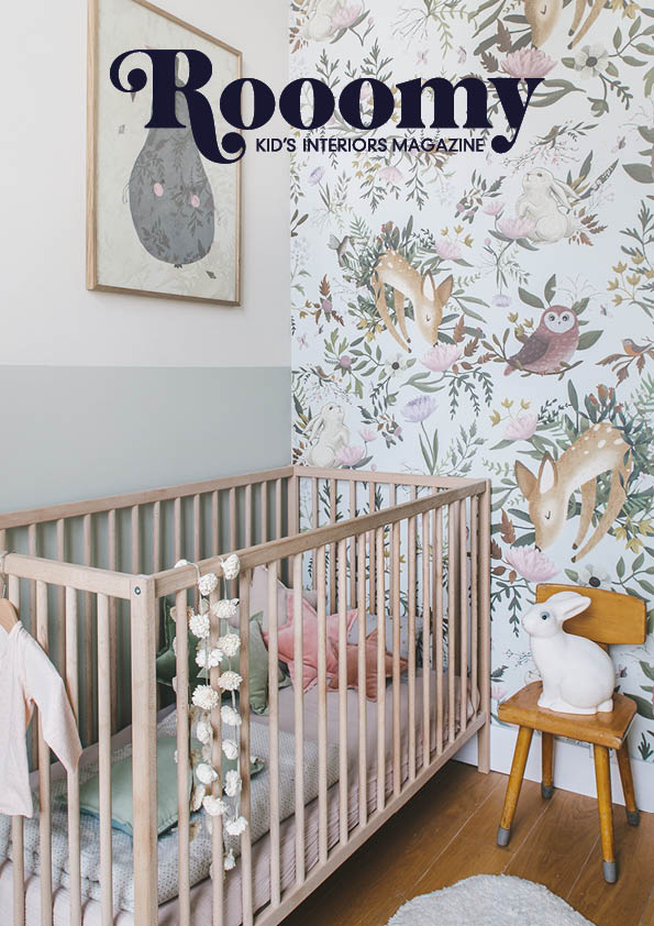 Rooomy Magazine Issue 10 for kid's bedrooms and decor focusing on nursery decoration and interiors