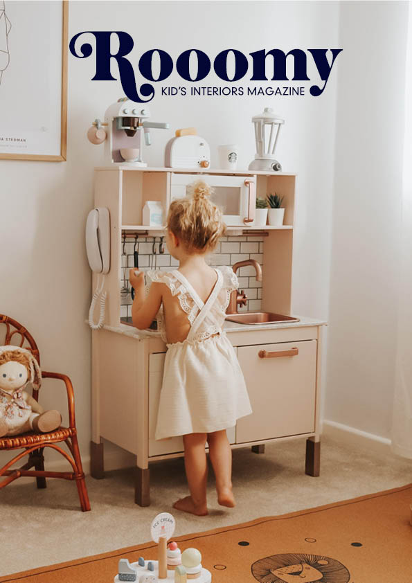 Rooomy Magazine Issue 11 for kid's bedrooms and decor focusing on sustainability