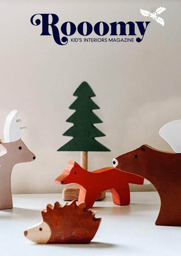 Rooomy Magazine Issue 12 for kid's bedrooms and children's christmas gift ideas