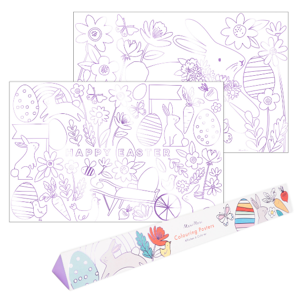 Easter Colouring Activity from Meri Meri perfect for the kids