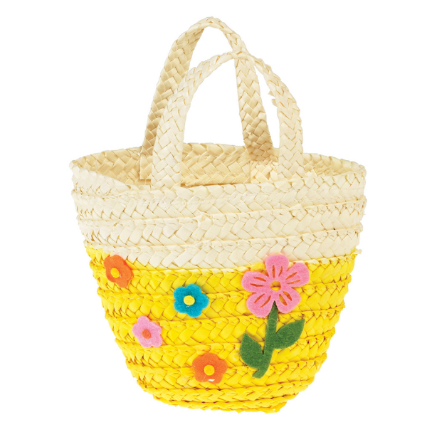 Yellow Egg Basket from Rex London for the kids' Easter egg hunts
