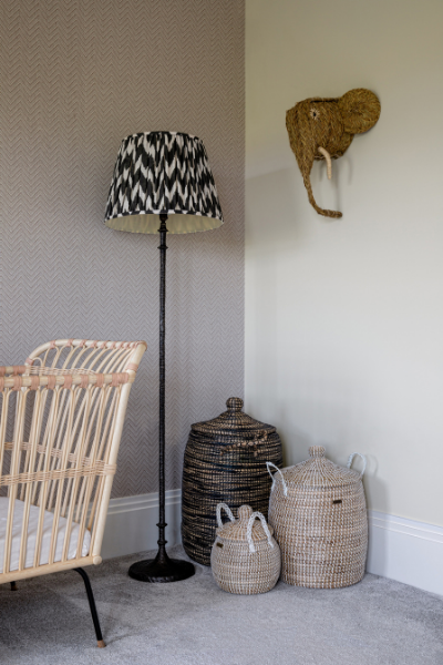 Baby Girl Nursery by PIA design featured by rooomy magazine
