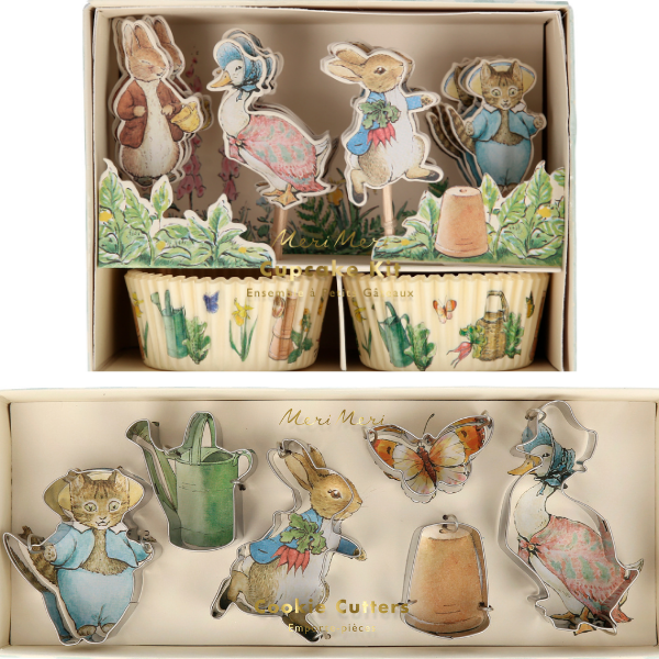 Peter Rabbit and Friends Baking from Meri Meri perfect for kids this easter