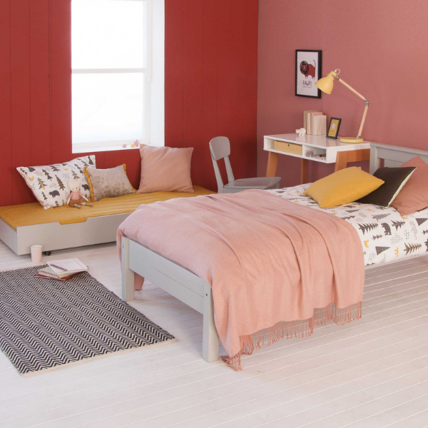 Classic Beech Bed with Trundle from Little Folks Furniture