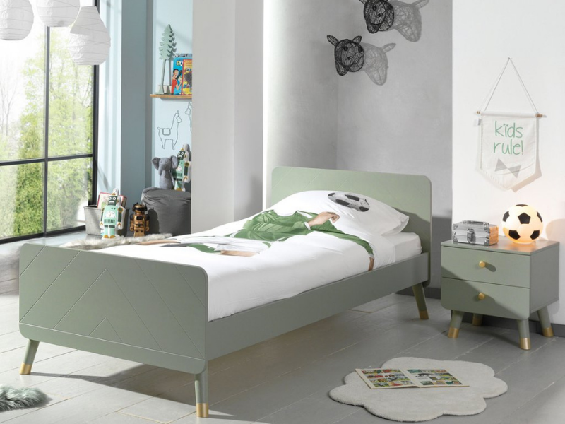 Top 10 Beds for kids, Billy Bed Olive from Bobby Rabbit, featured by Rooomy Magazine