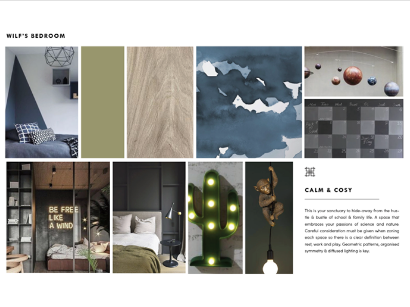 Moodboard by Barker Design for Wilf