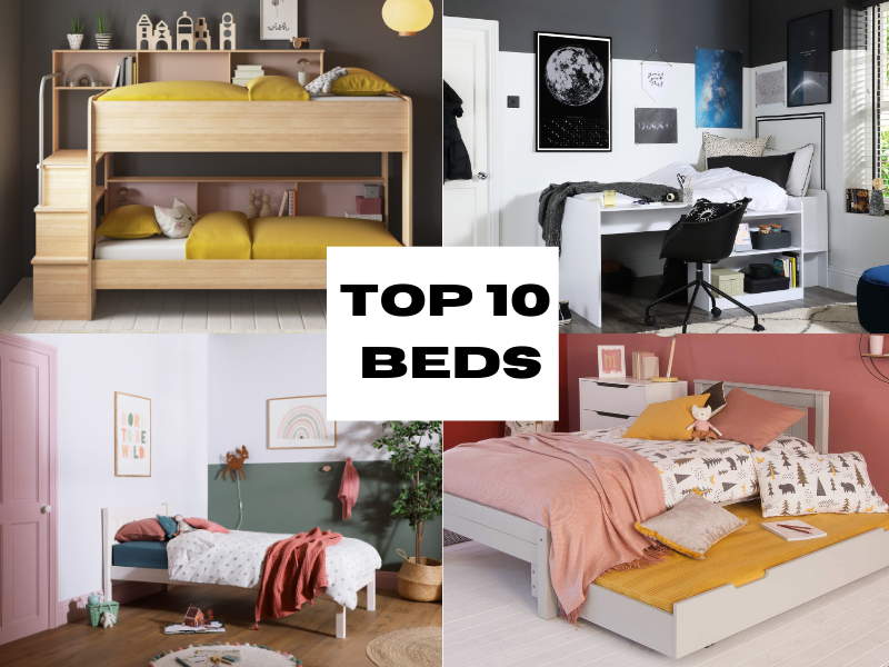 Top 10 Beds for Kids Bedrooms