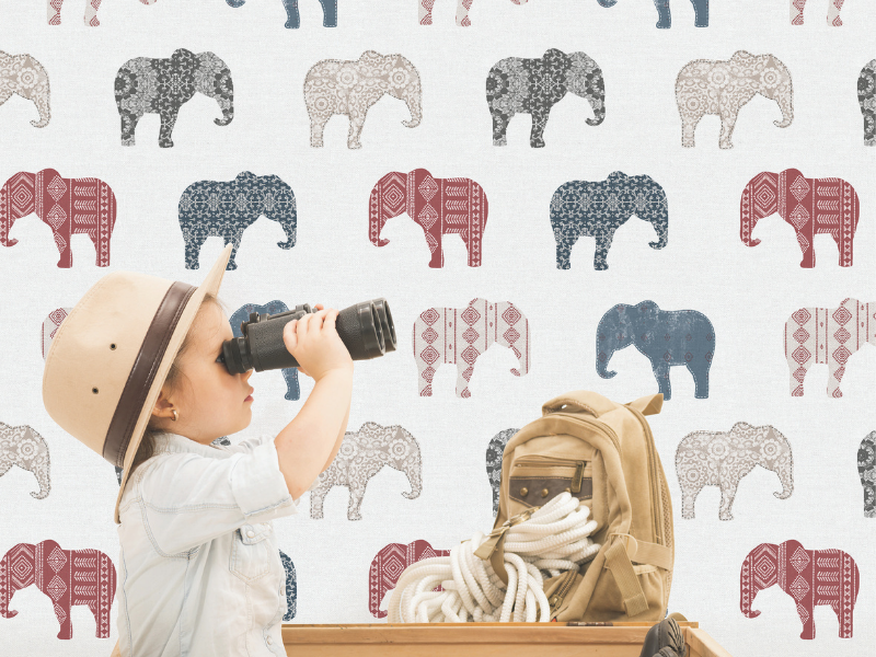 Top 5 wallpapers for kids' rooms - eclectic
