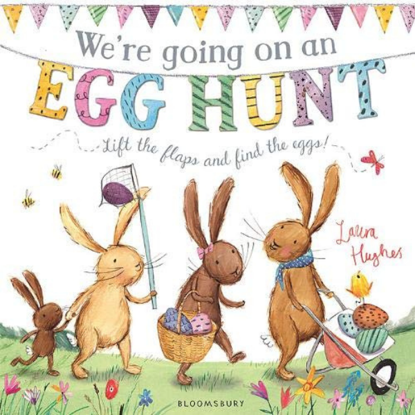We're going on an egg hunt kid's book for Easter