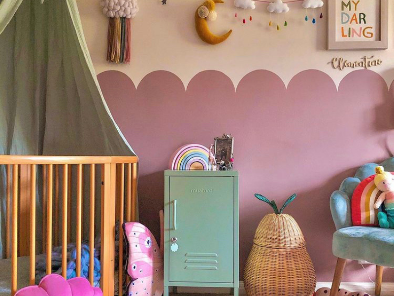 How to shop the look of this beautiful nursery