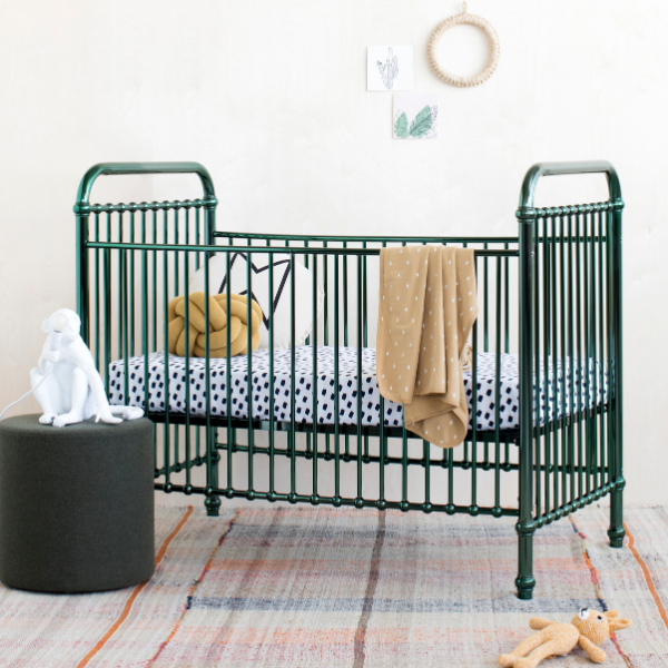 Incy Interior Metal Cotbed as seen in Rooomy Magazine
