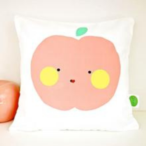 Apple Cushion as seen in rooomy magazine