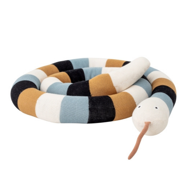 Snake Soft Toy,  Bloomingville as seen in rooomy magazine