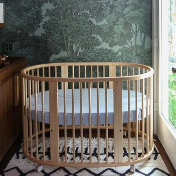 Stokke Sleepi Bed as seen in Rooomy magazine
