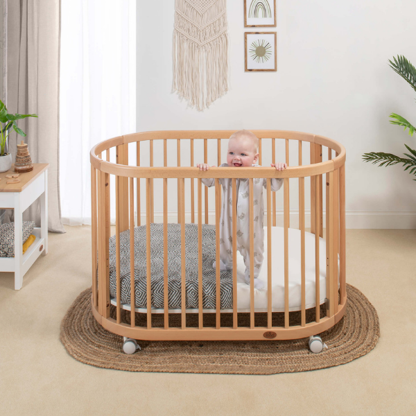 Oasis Oval Cot as seen in Rooomy magazine
