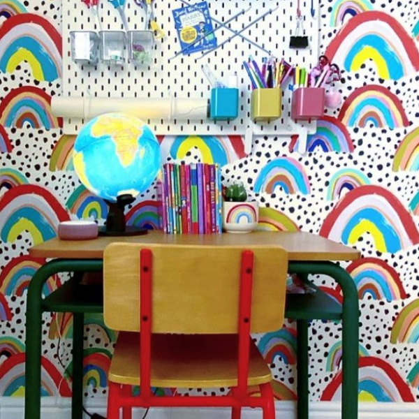 Kids' Desk Space as seen in rooomy magazine