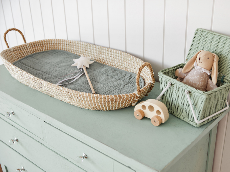 Expert Nursery Styling as seen in Rooomy magazine by award winning Chloe Spillett
