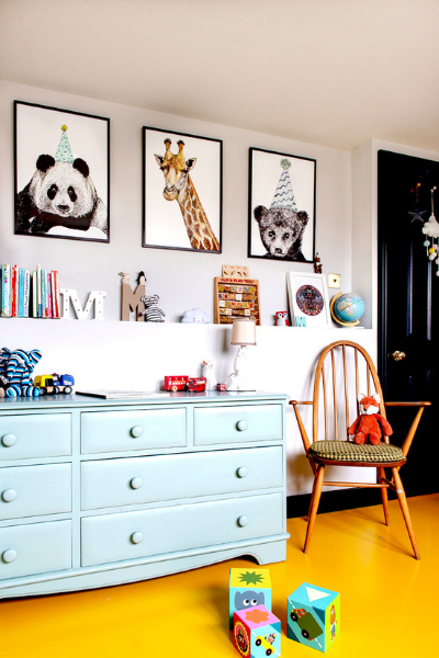 Max Made Me Artwork for kids room as seen in Rooomy magazine