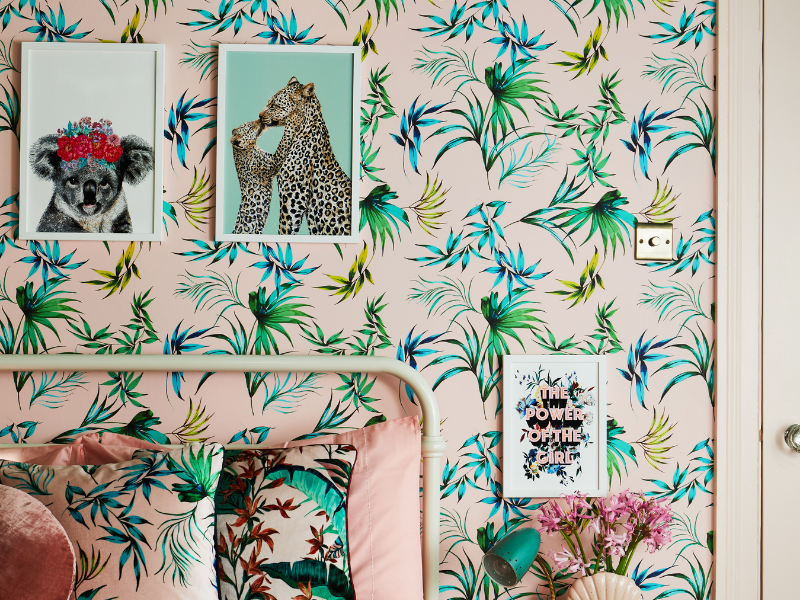 Maximalist art works great in kids' rooms?