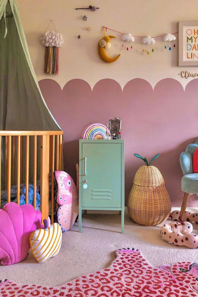 Colourful Nest Nursery as seen in Rooomy Magazine