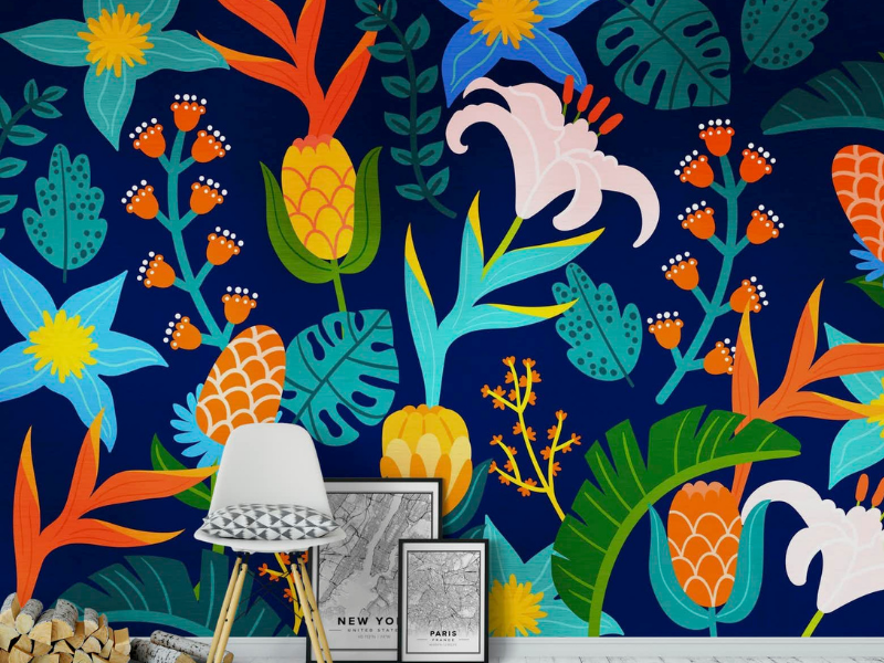 The Best Colourful Wallpaper for Kids' Bedrooms